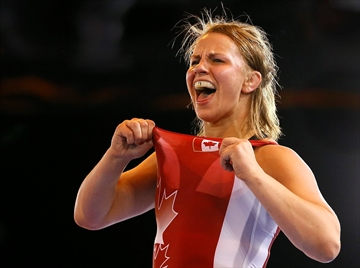 Canadian wrestlers win 2 gold in Glasgow-Image1