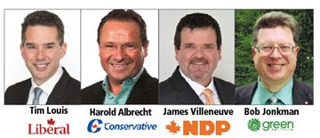Kitchener-Conestoga candidates