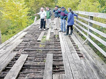 Trestle Bridge restoration
