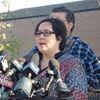 Jennifer Neville-Lake speaks to media