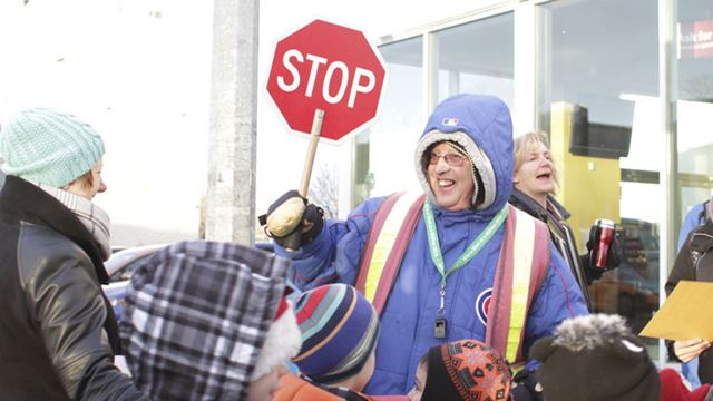 Ray the crossing guard