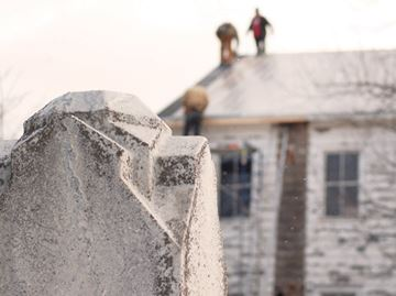 Beaverdams Church restoration milestone with new roof