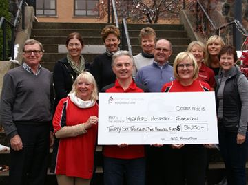 Meaford Hospital Foundation receives donation