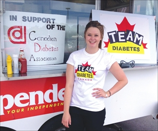 Megan raises funds for Diabetes Association– Image 1