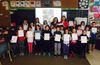 Bracebridge Public School donation to Habitat