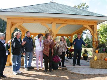 DWIGHT GAZEBO UNVEILED