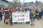 Penetanguishene elementary school hosts first-ever water walk