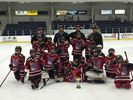 Minor atom red RedHawks down Oakville counterpart to win North London hockey title