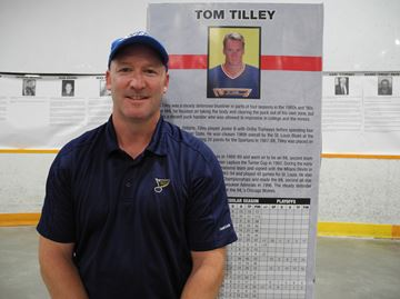 Former NHL player Tom Tilley
