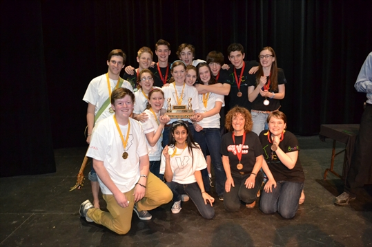 Fourth win in five years for BMLSS improv team ...