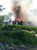Cottage fire on Clear Lake - Aug. 2, 2015