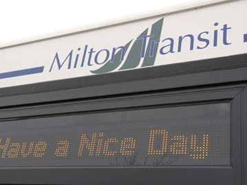 Milton Transit changes, rural pilot ready to roll