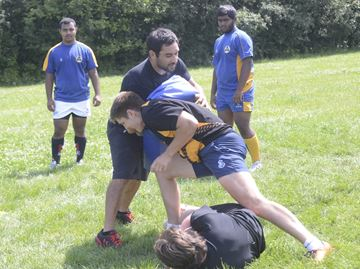 National rugby star Phil Mack helps lead camp in Oakville