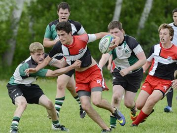 Oakville Trafalgar junior boys rely on brains, not brawn, to win rugby title