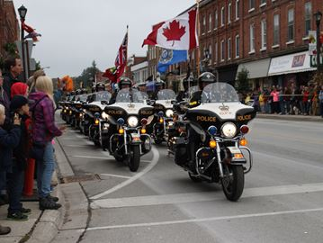 OPP Golden Helmets returning to Meaford