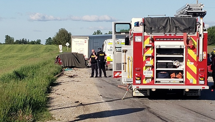 Three killed, child rushed to hospital in collision south of