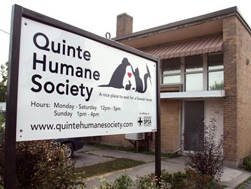 Quinte Humane Society shelter