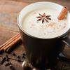 Masala chai with spices