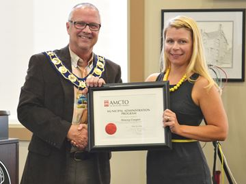 Town of Penetanguishene employees complete municipal law program