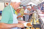Start Alliston Potato Festival with potato pancakes