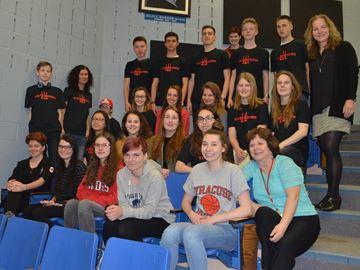 German exchange students in Waterdown