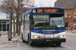 Niagara Falls transit bus