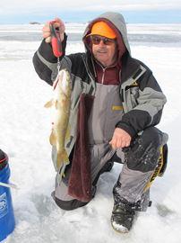 Lake Nipissing Ice Fishing