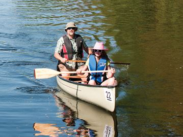 Canoe the Nonquon takes a cruise through Scugog
