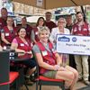 High spirits at safety village thanks to Lowe's donation