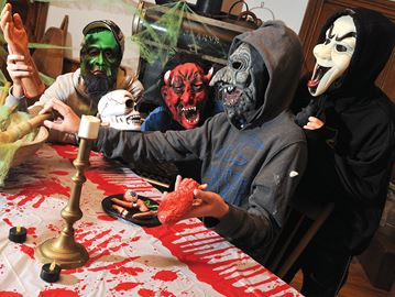 Fright at the Uxbridge Museum returns