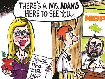 Today's cartoon: Eve Adams
