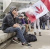 VIDEO: Pot activists rally for legalization at city hall