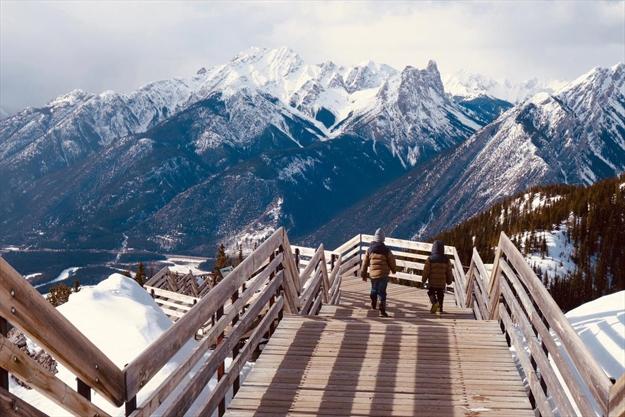 Spectacular Peaks Inspire Snowy Ski Break In Banff