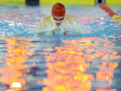 Wci Student Finishes First In Three Swim Races