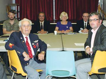Military input meeting