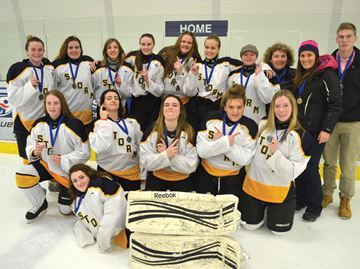 Collingwood's Jean Vanier win GBSSA hockey championship