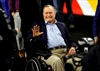 Former president George H.W. Bush in intensive care-Image1