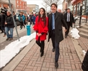 Trudeau tours Montreal ridings-Image1