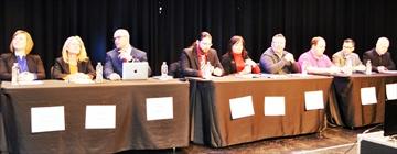 Ward 1 byelection candidates