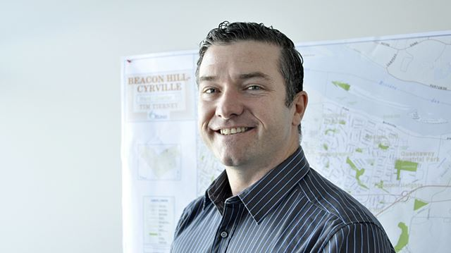 Beacon Hill-Cyrville Coun. Tim Tierney