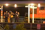 Man in hospital after being hit by freight train in Burlington