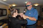 Innisfil mayor experiences the world of the deafblind
