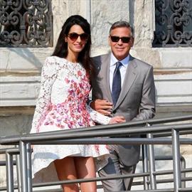 Amal Alamuddin quit smoking for George Clooney-Image1
