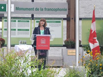 Francophone Day announcement