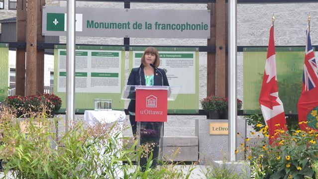 Francophone Day announcement