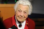 Former Mississauga mayor Hazel McCallion.