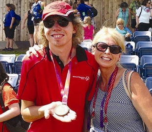 Bowler strikes gold at Special Olympics– Image 1