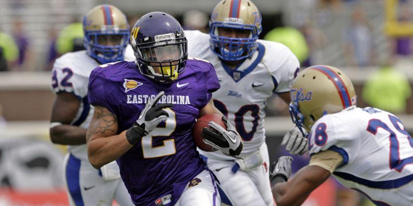 Jonathan Williams with East Carolina