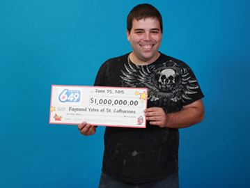 St. Catharines man wins $1-million lotto prize