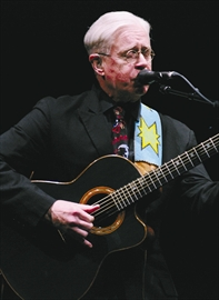 Gazette Events - Iconic Canadian singer songwriter Bruce Cockburn plays to an enthusiastic packed house at the Grand Theatre in Kingston on Feb 22nd.